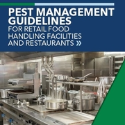 Pest Management Guidelines for Retail Food Handling Facilities and Restaurants